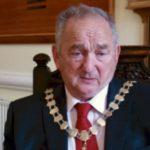 Mayor of Holyhead welcomes Royal Couple