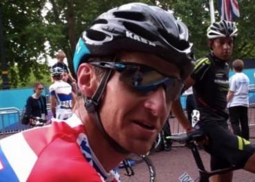 cyclists jubilant