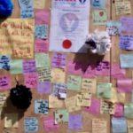 Riots help create wall of love