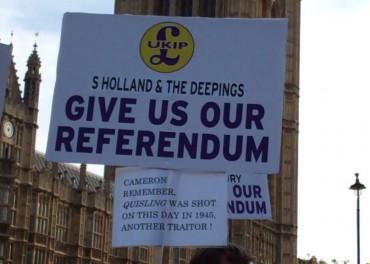 EU Exit or UniteEU Referendum In or Out