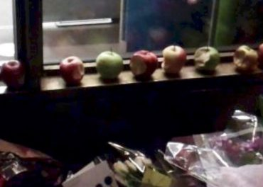 Apples for Steve Jobs death