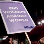 Women Reclaim the Night protest