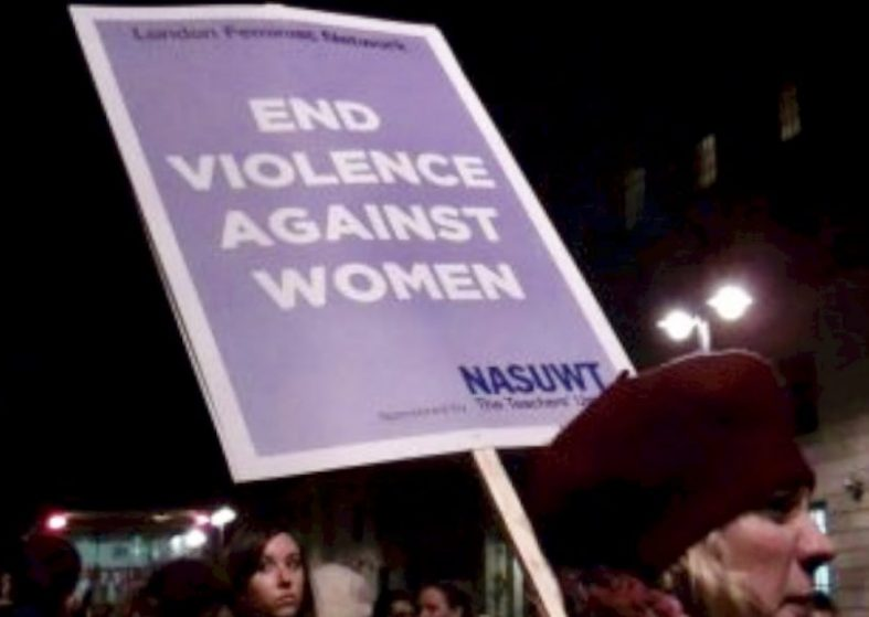 Women Reclaim the Night protest