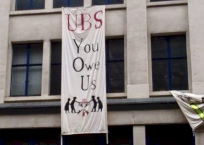 Occupy in UBS Building