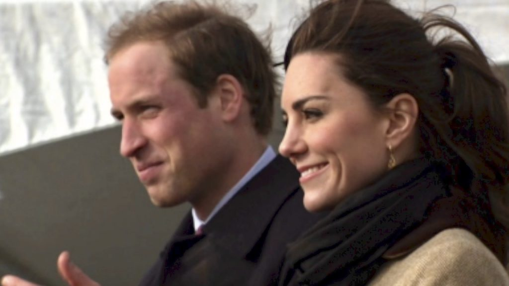 Kate and Wills before marriage