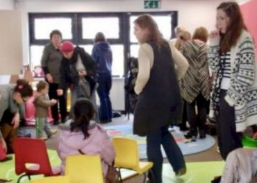 Brent Libraries - Mums, Dads, kids join protest
