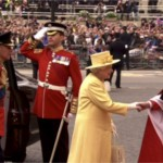 Queen Elizabeth II celebrates
