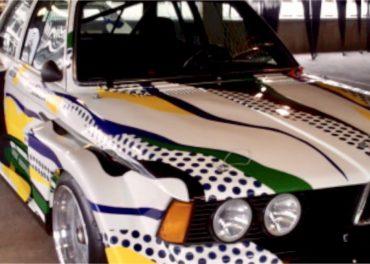 BMW Roy Lichtenstein Art Car: 1977