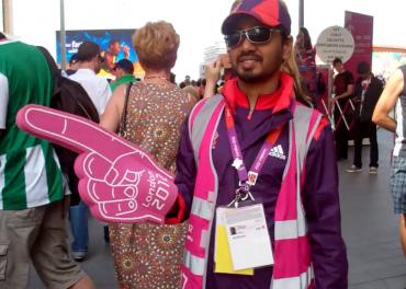 London Olympics volunteer/games maker
