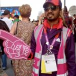 London Olympics volunteer/games maker
