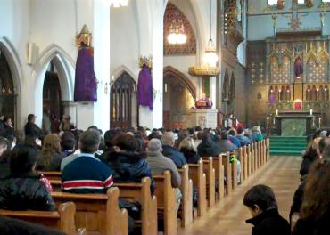 Latin American Pope - celebrating mass in Spanish