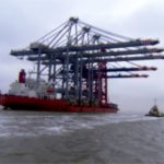 cranes shipped from China