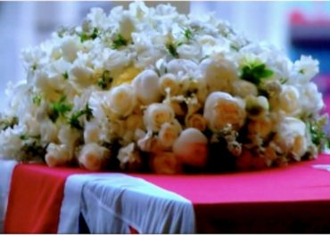 Thatcher Funeral St Pauls - goodbye