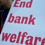 protest against big banks