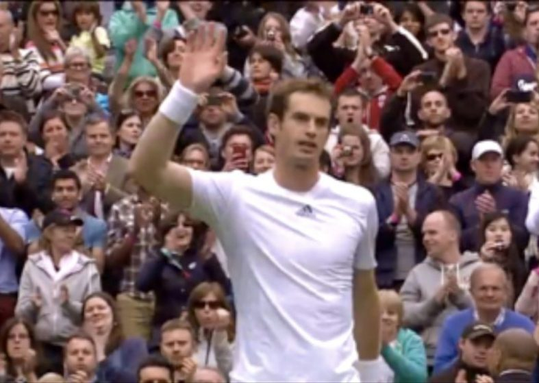 Andy Murray conquers Wimbledon