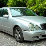 ebay Car - rusty, dented e320 CDI auctioned