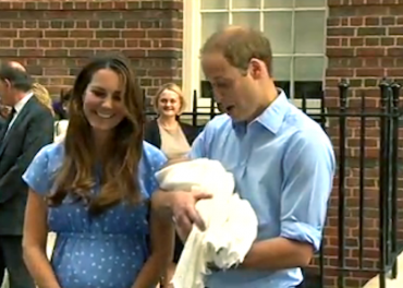 Royal Baby - proud parents