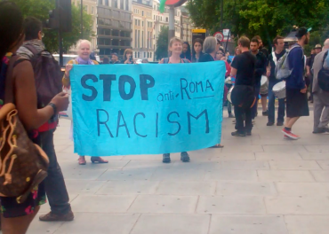 Roma Day - protest against discrimination