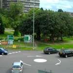 Ugliest Town in Britain - 6 routes into roundabout