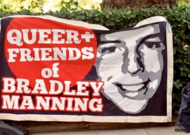Chelsea Manning Jailed - American Embassy London