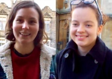 Winners Chloe and Sofia