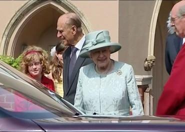 The Queen - an informal visit to Vatican