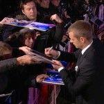 Movie awards - signing autographs