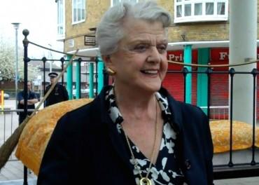 Angela Lansbury in Poplar