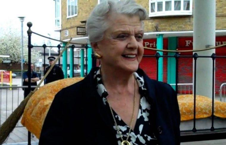 Angela Lansbury in Poplar