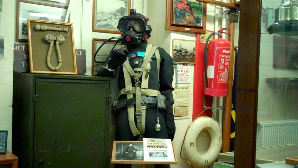 River Thames Police diver