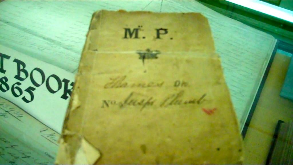 century old police notes dead baby