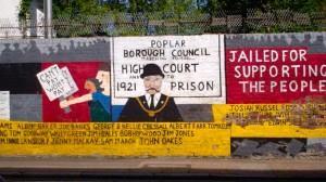 Poplar Councillors Defiant banner