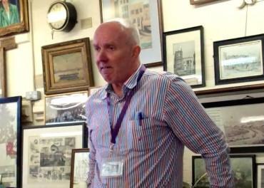 Rob Jeffries Police Museum curator