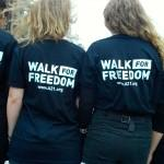 Anti-Slavery Walk for Freedom Day