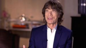 Mick Jagger backing James Brown film
