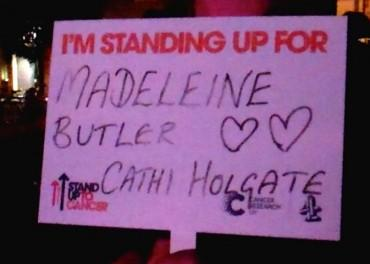 Stand Up To Cancer - Madeleine
