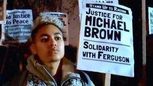 Ferguson Michael Brown UK Solidarity