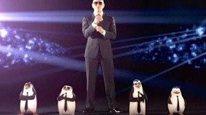 Penguins of Madagascar Music video and Pitbull