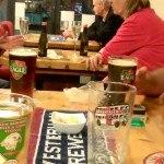 Micro Pubs winner with locals