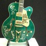A Gretsch guitar made for U2 Bono