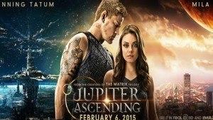 Jupiter Ascending - sci-fi thriller