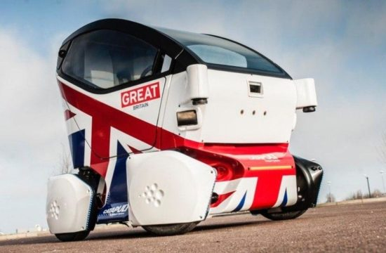 Driverless Cars Catapult Pod