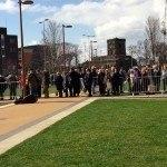 Part of Richard III queue 24 March