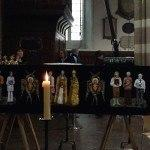 Richard III his coffin Leicester Cathedral