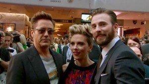 Avengers European Premiere