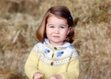 Princess Charlotte 2 years old