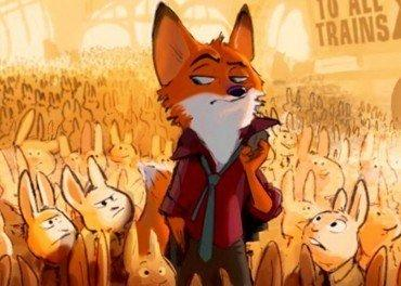 Zootropolis and the fox