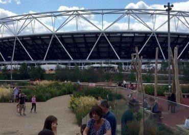 Queen Elizabeth Olympic Park 2015 changes