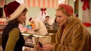Carol movie the lesbian affair