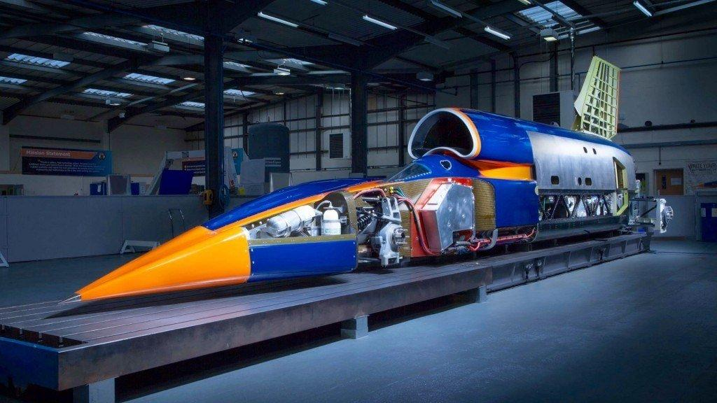 BLOODHOUND Supersonic Car pic Stefan MarjoramBLOODHOUND SSC pic Stefan Marjoram